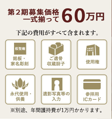 ベーシックプラン60万円